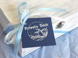 wedding gift design yacht keychain dock
