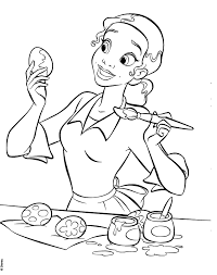 Princess Tiana Coloring Pages 356809 Princess And The Frog Colouring Pages