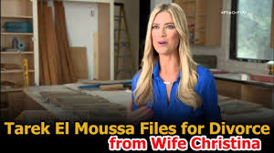 Tarek And Christina El Moussa by Gary Anderson Flip Or Flop Flip Or Flop Tarek Files For