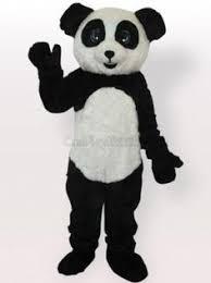 Panda Bear Halloween Costumes Panda Plush Mascot Costume Panda Mascot Costume