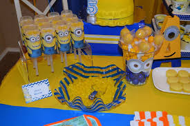 minions birthday party minions birthday party ideas photo 7 of 27 catch my party