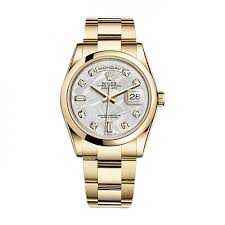 day date 36 118208chdo gold chagne set with diamonds