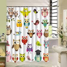 online get cheap cute shower curtains bathroom curtain aliexpress
