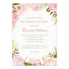 quinceanera invitations pink quinceanera invitation zazzle