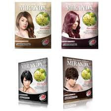 sachets of hair colours 2015 miranda magic hair color shoo from pt victoria care indonesia