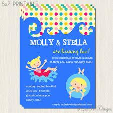 Sample Of Birthday Invitation Card For Kids Wonderful Kid Birthday Party Invitations Theruntime Com
