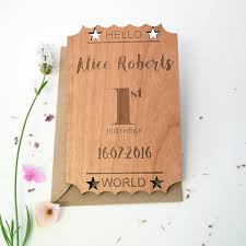 personalised 1st birthday keepsake cards hickory dickory designs