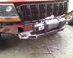 homemade jeep bumper wonderbrd937 1999 jeep grand cherokee u0027s photo gallery at cardomain