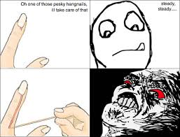 Funny Rage Memes - handnails oh crap omg rage face know your meme