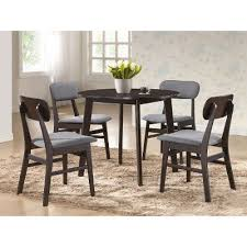dark brown round kitchen table dark brown round dining table debbie rc willey furniture store