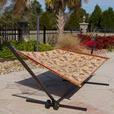 Padded Hammock Chair Castaway Vintage Floral Quilted Hammock Dfohome