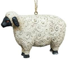sheep ornaments wacky woollies black sheep ornaments