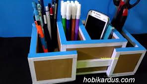 cara membuat lemari buku dari kardus bekas cara membuat tempat pensil dari kardus bekas bisa diperlebar hobi