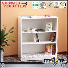 white metal cube bookcase half height cream book display cabinet