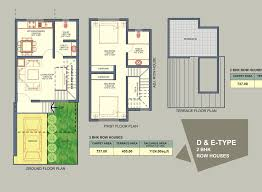 2 Bhk Home Design Layout Row House Design Home Planning Ideas 2017