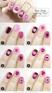 15 diy tutorials and ideas for cute valentine u0027s day nails style
