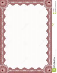 red certificate border illustration 31246656 megapixl