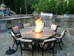 Patio Table And Chair Set Propane Fire Pit Table And Chairs Full Image For Gas Fire Pit
