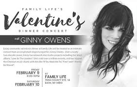 day dinner concerts with singer songwriter ginny owens