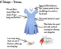 understanding how to dress x shape bodies