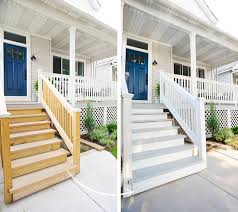 it only took us a year painting the exterior stairs