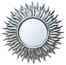 antique of sunburst wall mirror