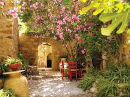 Small Courtyard Garden Design Ideas by Greek Courtyard Garden Bing Images Garden Designs Pinterest