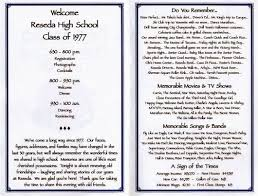 50th high school reunion decorations 30th reunion program class reunion ideas school reunion and