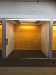 interior office glass walls sliding glass doors curtain wall