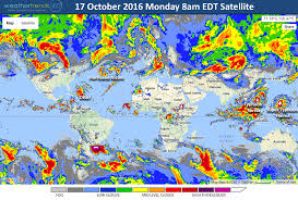 National Temperature Map Star Date 17 October 2016 Monday Blog Weathertrends360