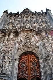 Mexico Architecture Churrigueresque Wikipedia