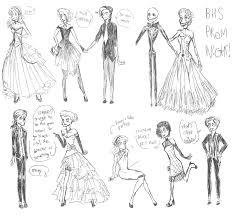 prom night burton high sketch by lady vaudeville on