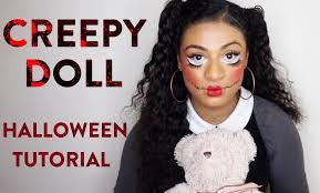 Creepy Doll Costume Creepy Doll Halloween Hair Tutorial All Shades Covered