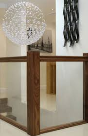 Images Of Banisters Glass Balustrading Oak Handrail With Glass Toughened Glass