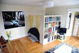 interesting studio apartment wall dividers pictures inspiration