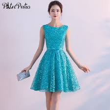 junior dresses potn patio turquoise blue homecoming dresses 2017 summar