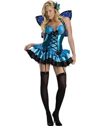 party city costumes halloween fairy blue butterfly costume womens u0027 size small brand