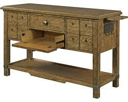 Broyhill Computer Desk New Vintage Sideboard Time Worn Ebony Broyhill Broyhill