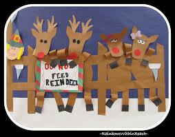 reindeer from painted hand prints freebie hop reindeer