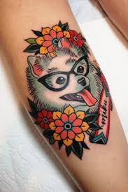 absolutely fabulous colorful tattoo designs penguin