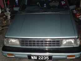 nissan sunny 1986 modified driving nissan sunny b11 series