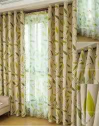 victorian elegant leaf sage polyester designer curtains and drapes