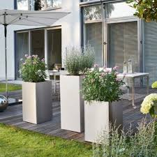 Modern Garden Planters 52 Best Stainless Steel Planters Pots And Containers Metal