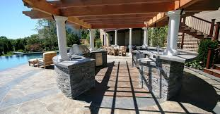 kitchen outdoor ideas kitchen outdoor cooking station ideas with black granite countertop