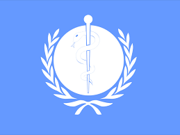 flag of the world health organization world health organization ppt backgrounds blue design health