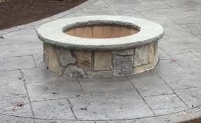 Fire Pit Grill Insert by Outdoor Stone Fire Pit Kits And Fire Pit Inserts