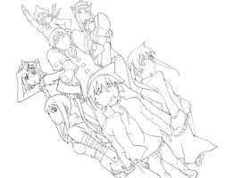soul eater coloring pages 93828 anime kids pedia coloring