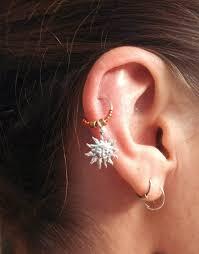 ear piercing hoop ear piercings types of piercings