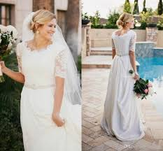 casual wedding dress discount casual illusion half sleeve country wedding dresses crew