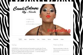 makeup artists websites web design news andrea bertola shaw